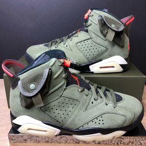 Jordan 6 Retro Travis Scott CN1084-200 Size 8